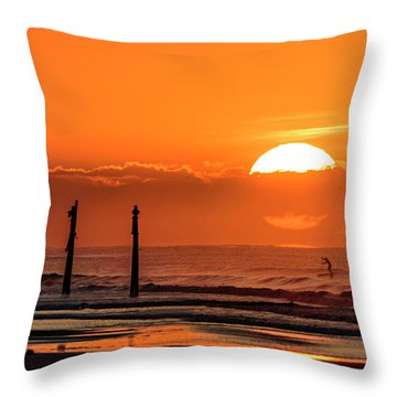 Paddle Home Throw Pillow