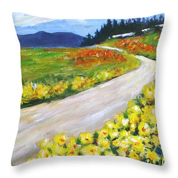Padilla Trail Throw Pillow