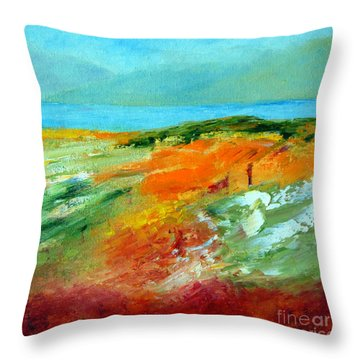 Padraig's Achill Throw Pillow