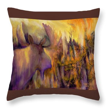 Pagami Fading Throw Pillow