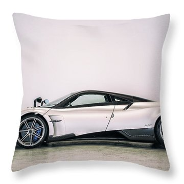 #pagani #huayra Bc Throw Pillow