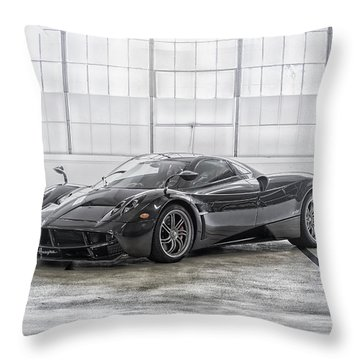 Pagani Huayra Throw Pillow