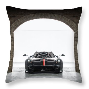 Pagani Huayra La Monza Lisa Throw Pillow