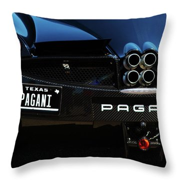 Pagani Texas Throw Pillow