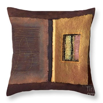 Page Format No 2 Transitional Series  Throw Pillow