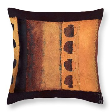 Page Format No 3 Tansitional Series   Throw Pillow