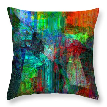 Pain Is Universal Throw Pillow