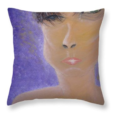 Painful Life Throw Pillow by Donna Blackhall