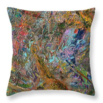 Paint Number 26 Throw Pillow