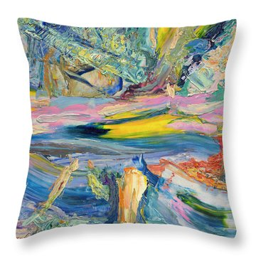 Paint Number 31 Throw Pillow