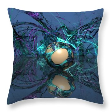 Losing It Throw Pillow