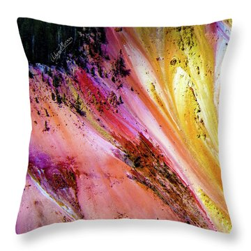 Painted Canyon Throw Pillow