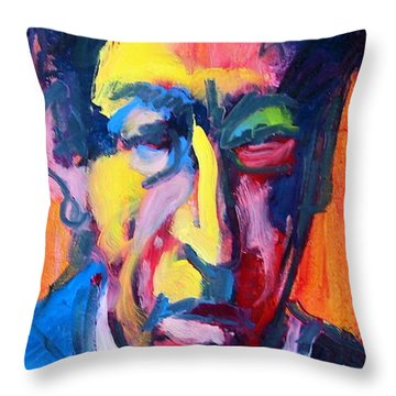 Painter Or Poet? Throw Pillow