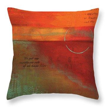 Painterly Throw Pillow