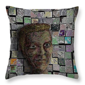 Painters Block Throw Pillow by Steve  Hester