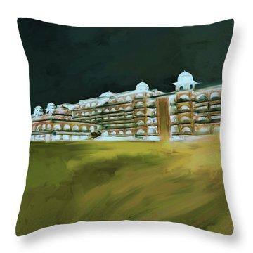 Painting 797 5 Peshawar University Throw Pillow