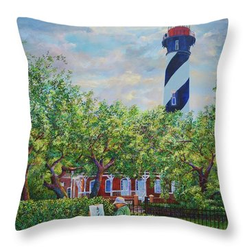 Painting The Light Throw Pillow