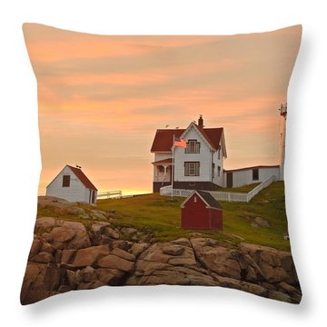 Painting The Skies Throw Pillow