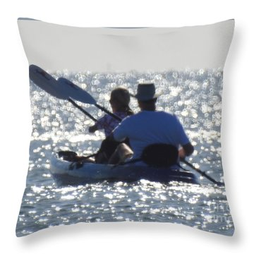 Paired Well Throw Pillow