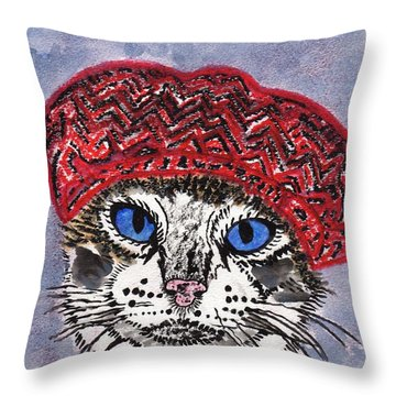 Pairs My Dear Throw Pillow by Connie Valasco