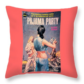 Pajama Party Throw Pillow