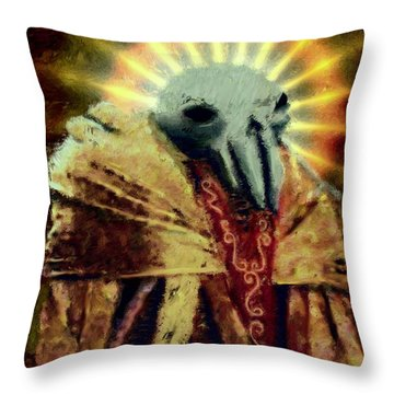 Pak'ma'ra Most Regal Throw Pillow
