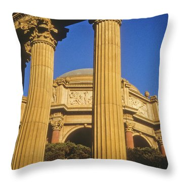 Palace Of Fine Arts, San Francisco Throw Pillow