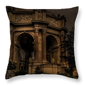 Throw Pillow featuring the photograph Palace Of Fine Arts - San Francisco by Ryan Photography