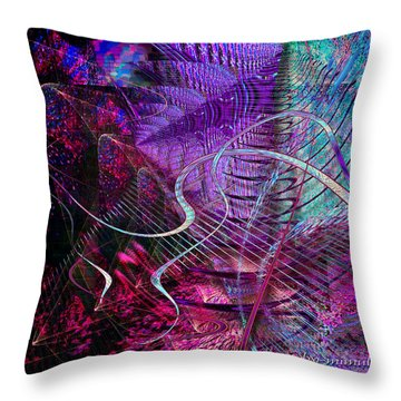 Palace Of The Winds Throw Pillow