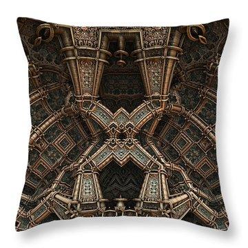 Palace Wall Throw Pillow