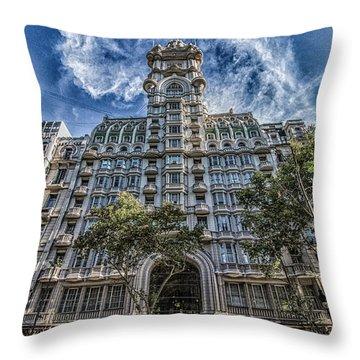 Palacio Barolo, Buenos Aires, Argentina Throw Pillow