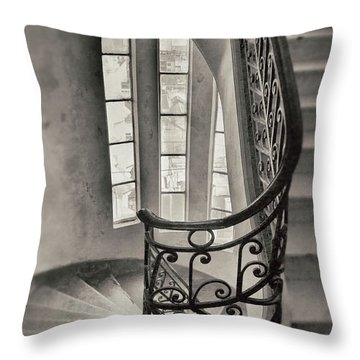 Palacio Barolo Stairs Buenos Aires Throw Pillow