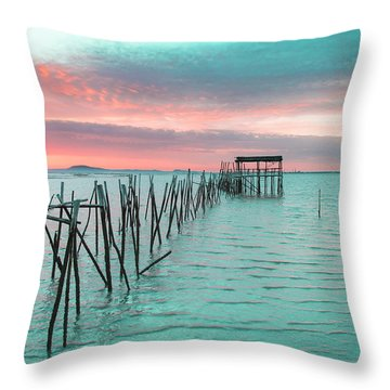 Palafitico 01 Throw Pillow