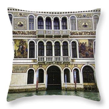 Palazzo Barbarigo Throw Pillow