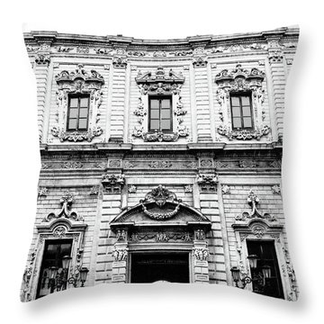 Palazzo Dei Celestini Throw Pillow