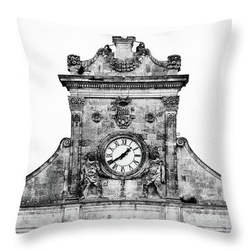 Palazzo Municipale Throw Pillow