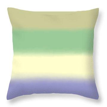 Pale Iris - Sq Block Throw Pillow