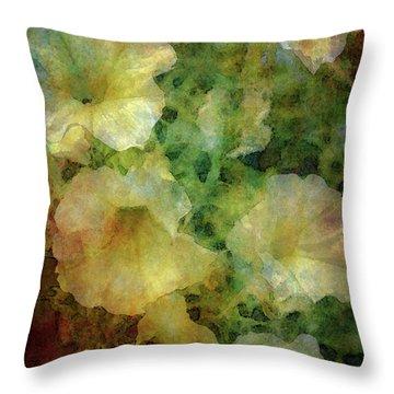 Pale Petunias 5146 Idp_2 Throw Pillow