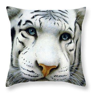 Pale Prince... Throw Pillow