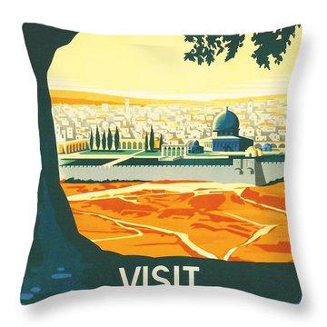 Palestine Throw Pillow by Georgia Fowler