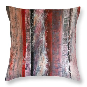 Palimpsest Throw Pillow
