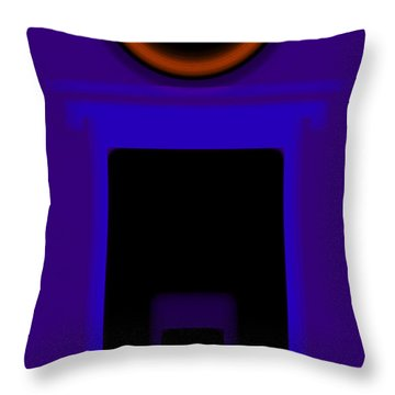 Palladian Violet Throw Pillow by Charles Stuart