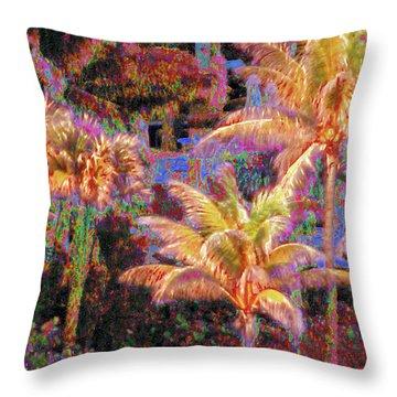 Palm 1008 Throw Pillow