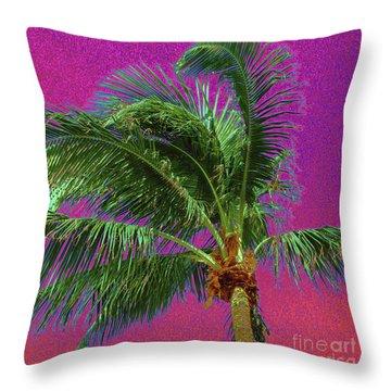 Palm 1012 Throw Pillow