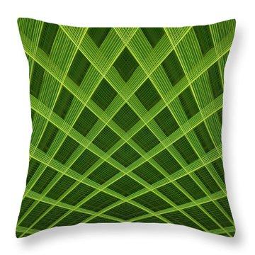 Palm Leaf Composite Throw Pillow