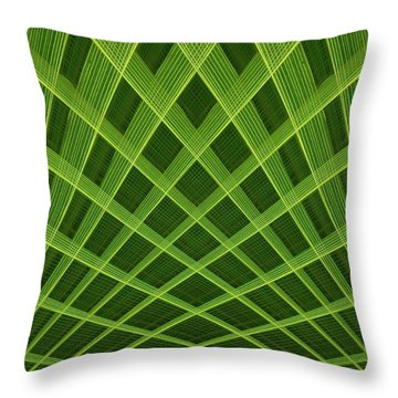 Palm Leaf Composite Throw Pillow