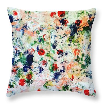 Palm Springs No 1 Throw Pillow