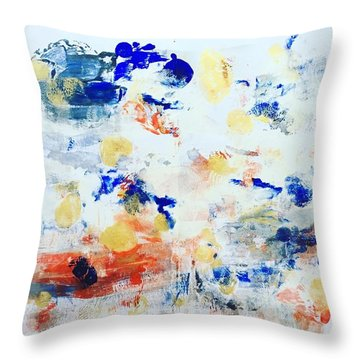 Palm Springs No 2 Throw Pillow