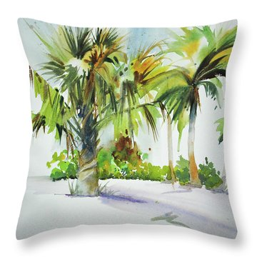 Palm Sunday Throw Pillow