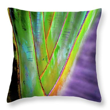 The Palms Hawaii Throw Pillow